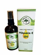 Vitamin E Oil 100% Natural Pure for Face, Skin, Hair, Scars and Stretch Marks...