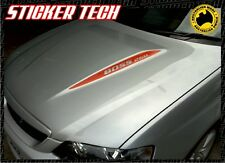 2x FORD FALCON BA BF BOSS 260 OR 290 XR8 GT GTP BONNET HUMP STRIPE STICKER DECAL