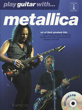 Play Guitar with Metallica TAB Music Book/Play-Along CD