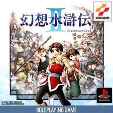 Konami Genso Suikoden 2 II PS Import Japan