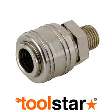 "EURO AIR LINE 1/4"" BSP MALE THREAD QUICK COUPLER CONNECTOR FITTING 237552"