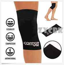 New Copper Fit Infused Knee Compression Sleeve Support Brace Joint Pain Protect