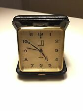 DUNHILL VINTAGE Electric Travel Alarm Clock