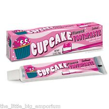 Cupcake Flavoured Toothpaste - Makes Your Breath Frosting Fresh!
