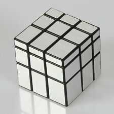 Magic Cube 3x3x3 PVC Black Speed Rubik's Cube 3x3 3 Layers SILVER Irregular