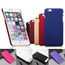 Back Case Cover Snap On For iPhone6S 4S 5 5S 5C 6 6Plus Rubberized Hard Matte