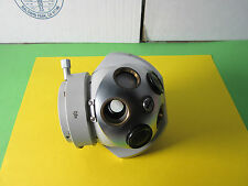 MICROSCOPE PART ZEISS GERMANY 0.8x TURRET NOSEPIECE HEAD OPTICS BIN#26-01