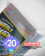 20 BOITIERS PROTECTION PROTECTIVE CASE NINTENDO NES 0,4 mm NEUFS