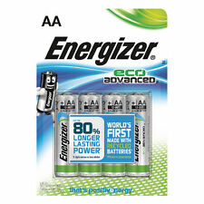 12x ENERGIZER ECO ADVANCED AA BATTERIES FOR DIGITAL CAMERA LONG EXPIRY DATE