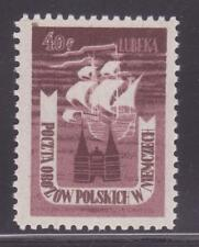 POLAND. Stamps.  Lubeka. Fischer #2, Vol. II, p 237. No gum as issued.