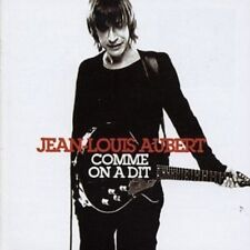 JEAN-LOUIS AUBERT - COMME ON A DIT: BEST OF  CD FRENCH POP FRANCAIS NEU