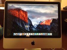 """Apple iMac 20"""" 2.66GHz Core 2 Duo 4GB Ram 250GB HDD 10.11.3 El Capitan A1224"""