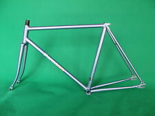 Panasonic Grayish Blue NJS Keirin Frame Track Bike Fixed Gear Single Speed
