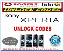 Rogers Fido Bell  Canada Locked Blackberry Unlock Code Z10 Q10 Q5 Z30 Passport