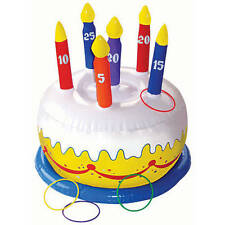 Inflatable Birthday Cake Ring Toss Game -Birthday Party
