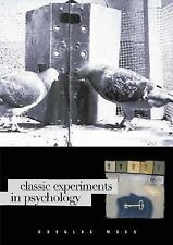 Classic Experiments in Psychology, Mook, Douglas, Acceptable Book