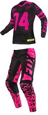 2016 FOX RACING Women's motocross Combo switch Pants 8 Jersey L BLACK PINK Women