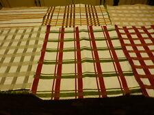 6carres de 45x43 beaux tissus pour créations diverses ,neufs  assortis