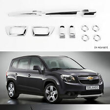 Chrome Front Rear Exterior  Molding Trim Cover for 10+ Chevrolet Orlando