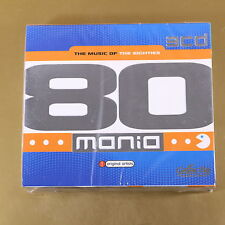 [AL-150] CD -  THE MUSIC OF EIGHTIES MANIA - GOLDEN BOX COLLECTION - OTTIMO
