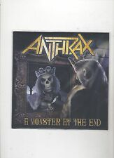 Anthrax A Monster At The End  7 inch Vinyl Record Store Day Sealed