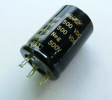 16+16uF 500V Capacitor for Valve Audio & Guitar Amplifier or radiogram UK STOCK