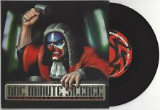 """One Minute Silence """"Stuck Between A Rock and A White Face"""" 7"""" OOP Deftones Korn"""