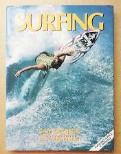 'SURFING' SAM GEORGE PHOTOGRAPHS BY JEFF HORNBAKER BOOK SURF 1992 OLD SURFER