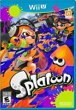 NEW Splatoon (Nintendo Wii U, 2015)