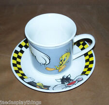 Sylvester & Tweety Mug Cup And Saucer Set Gibson Looney Tunes Warner Bros