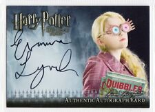 Harry Potter Half-Blood Prince Autograph card Evanna Lynch/Luna Lovegood