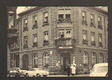 """KONSTANZ / CONSTANCE (ALLEMAGNE) HOTEL """"SCHEFFELHOF"""" animé"""