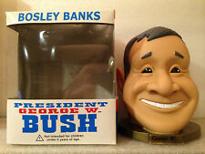 BOSLEY BOBBERS GEORGE W BUSH BANK 7 INCHES TALL & WIDE BRAND NEW CRAZY RARE