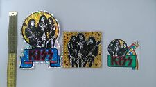 Kiss Gene ACE PETER vintage retro stickers sticker set
