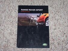 2005 Land Rover Range Rover Sport Original Navigation System Owner Manual Book