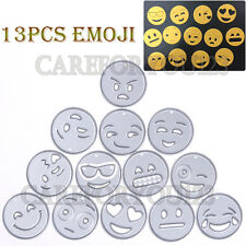 13Pcs Emoji Metal Cutting Dies Stencils DIY Scrapbooking Paper Card Album Craft