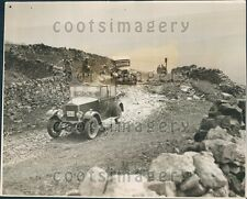 1928 Vintage Autos Make London to Edinburgh Run Stake Moss Press Photo