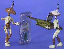 STAR WARS EPISODE 1 LOOSE ULTRA RARE PIT DROIDS 2 PACK MINT CONDITION. C-10+