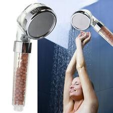 Douchette Tête Douche Pommeau Booster SPA Anion  Shower Head Pr Salle de Bain