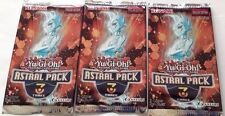 3x YuGiOh TCG Astral Pack 3 3-Card/Pack fresh from Factory Sealed Box Rare New