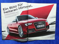 Audi RS 5 Cabriolet - Werbeanzeige Reklame Advertisement 2013 __ (207