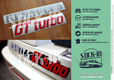 Autocollants Stickers Renault R5 GT Turbo Renovation Monogramme Logo Rear Coffre