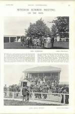 1896 course de chevaux windsor summer meeting paddock club stand Clewer welter