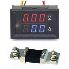 DC 300V 500A + Shunts digital led Voltmeter & Amperemeter Spannung Strom Ampere