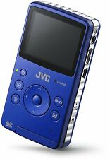 BRAND NEW IN BOX JVC PICSIO GC-FM1A HD Camcorder (Brilliant Blue)