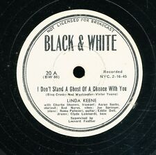 14pc78-Jazz-Black and White 20-Linda Keene-  RARE