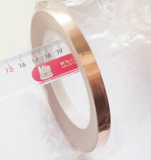 1 Roll Single Conductive COPPER FOIL TAPE 10MM X 30M with High Quality