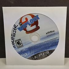 Wipeout 2 (Sony PlayStation 3, 2011) DISC ONLY #7573