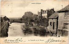 CPA Pont l'Eveque - Passerelle sur la Touques (276314)
