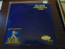 Elvis Commemorative Album Yellow Vinyl Double LP